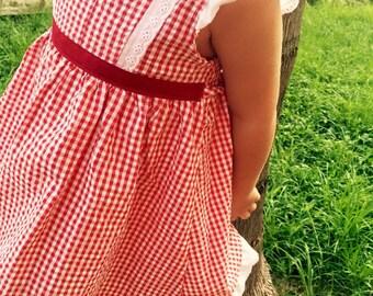 Little red riding hood dress