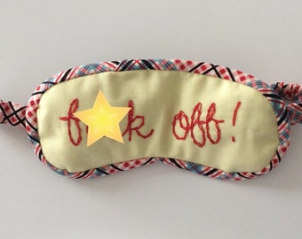 f--k off sleep mask MATURE
