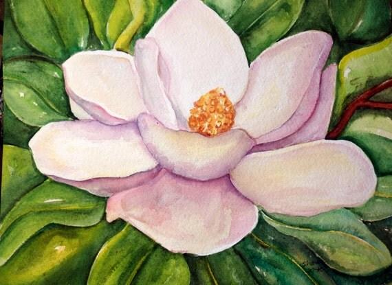 magnolia painting - photo #10