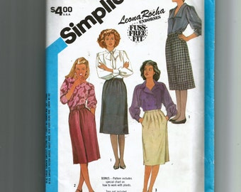 Simplicity Misses' Set of Skirts Pattern 6527