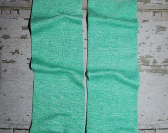 green, baby leg warmers, boy leg warmers, girl leg warmers, first birthday outfit, baby onesie, accessories, legwarmers, toddler leggings