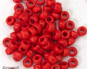 15/0 Opaque Red Japanese Seed Bead (20 gm) #JBO005