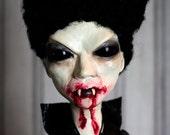 Creepy Gothic Vampire Doll - Blood, Skulls & Cross Delia
