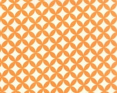 Hello Darling - Orange Peel in Orange: sku 55111-26 cotton quilting fabric by Bonnie and Camille for Moda Fabrics - 1 yard