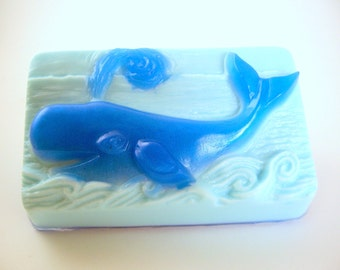 Blue Whale, Soap for Ocean Lover, Gift for Whale Lover