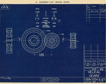 Blueprint Wall Art blueprint art | etsy