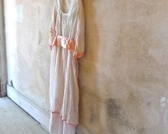 Girl's Edwardian Tea Dress 22 Inch Waist