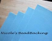 Nicoles BeadBacking 4 pack 12x9 Powder Blue