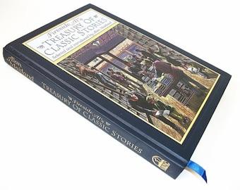 Hollow Book Stash Safe, Treasury of Classic Stories, Jewelry Box, Secret Hiding Compartment Box