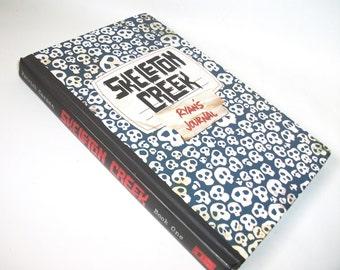 Hollow Book Safe Skeleton Creek, Secret Stash Keepsake Compartment Box, Geekery Gadget Home Decor Security