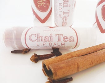 CHAI TEA Lip Plumper Natural Tinted Lip Balm