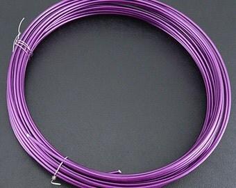 10 meter 2mm aluminum jewelry wire-7117G