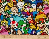 Super Mario Brothers - Donkey Kong - Nintendo Characters - Plus Size Skirt - Custom Size