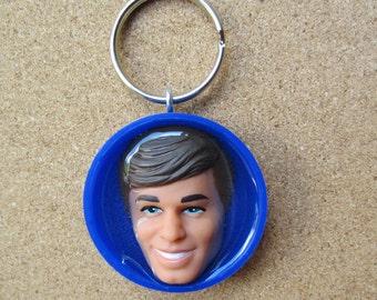 Handsome Blue Ken Keychain
