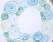 Celestial Wreath PDF Hand Embroidery Pattern