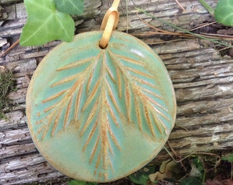 Old Fashioned Pine Bough Ornament