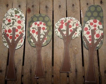 Whimsical Trees for Scrapbooking, Card Making, Embellishments, Tags