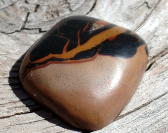 Indian paint Stone Cabochon for Jewelry Supply~Dealth Valley Rock