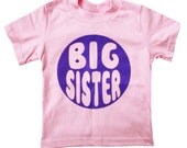 Kids BIG SISTER T-shirt