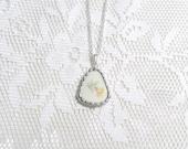 Broken China Jewelry Necklace Repurposed China