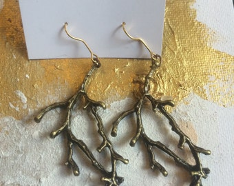 Trees Come Down earrings