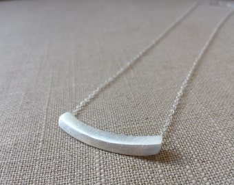Sterling Silver Handmade, Calm Necklace