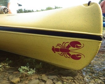 Lobster, MEDIUM,  Kayak Decal