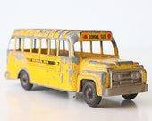 Vintage School Bus by Hubley USA