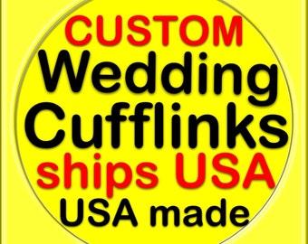 Super hero cufflinks cuff links superhero best man groom custom personalized ships USA  made popular trending wedding best man