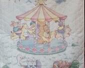 Carousel Crib Cover