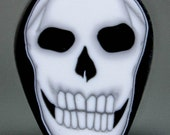 SALE - Polymer Clay Skull Cane - 'Nevermore' (2cd)