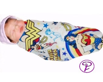 Wonder Women Baby Blanket, baby Swaddle blankets, Receiving Blanket, Wonder Women Blanket, Flannel Blanket, Wonder Women newborn baby gifts