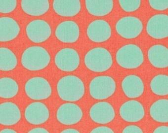 Amy Butler Fabric, Love Collection, Sunspots, Tangerine Orange - 1 YARD