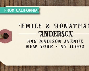CUSTOM ADDRESS STAMP with proof from usa, Eco Friendly Self-Inking stamp, Custom Address Stamp, Custom Stamp, Wedding Stamp, rsvp Stamp 236