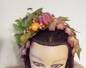Bird In the Bush Headband Headpiece