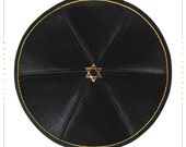 Kippah - yarmulke. Jewish wedding - Bar Mitzvah - Shabbat. David Star.