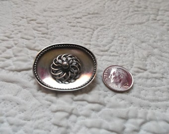 Lovely Antique European 800 Silver Brooch/Pin