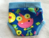 Party Monsters Anti Pill Diaper Cover