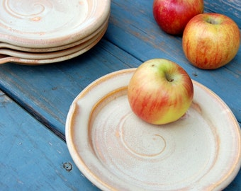 Round Sunburst Lunch or Salad Plate - Made to Order