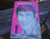 Book - Leonard Nimoy's 'Will I Think of You?' 1974