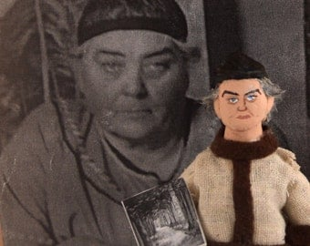 Emily Carr Doll Miniature Canadian Artist Historical Painters