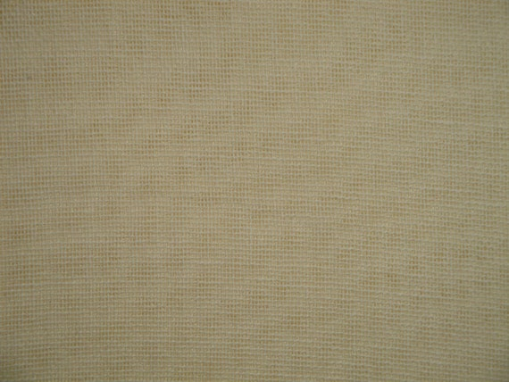 Ivory Tobacco Cloth Primitive Fabric Reenactors Fabric Craft Fabric Home Decor Fabric