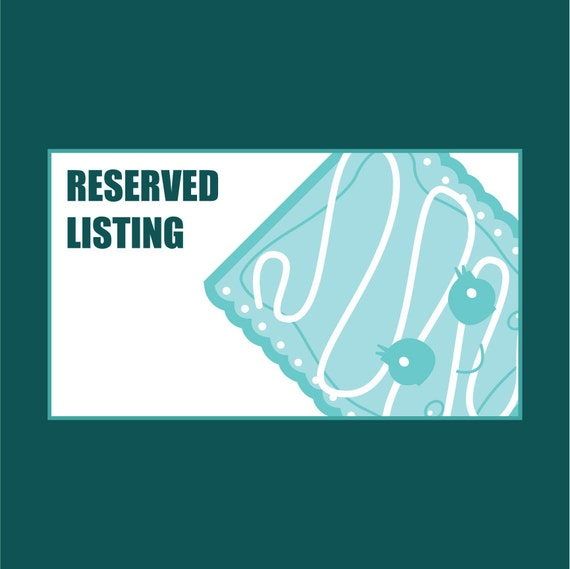 Reserved Listing for genezeckser