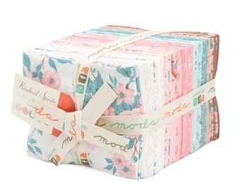 Clearance!!  Kindred Spirits by Bunny Hill for Moda (2890AB) - Fat Quarter Bundle