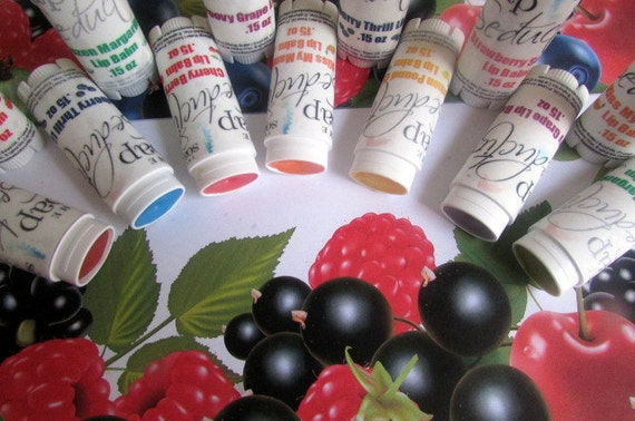 Lip Balm Trio-For Serious Lip Crack Addicts