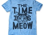 The Time Is Meow (Men's / Unisex)