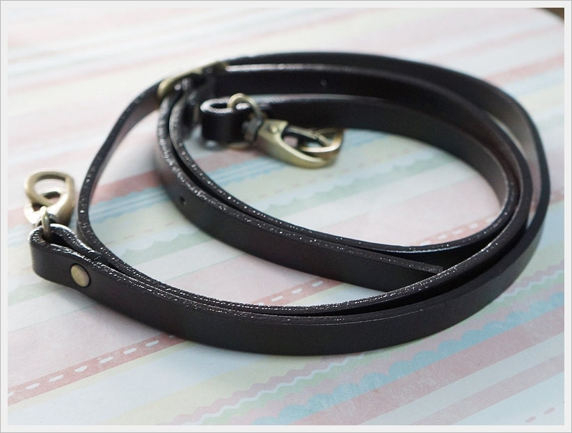 Leather Bag Handles With Sewing Holes