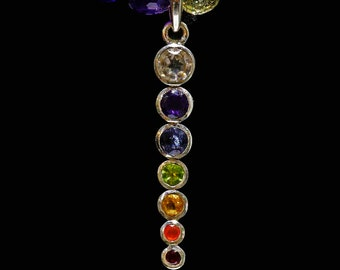 Sterling Chakra, Amethysts & Butterfly