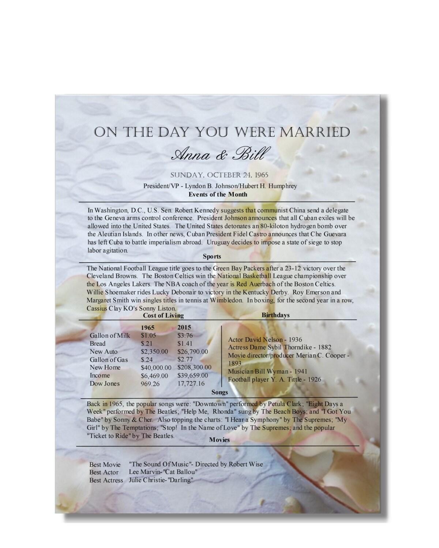 21 Wedding Anniversary Gifts: 21st Anniversary Gift 21 Year Anniversary 21 Years Married