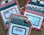 Luggage Tag Fabric Kit